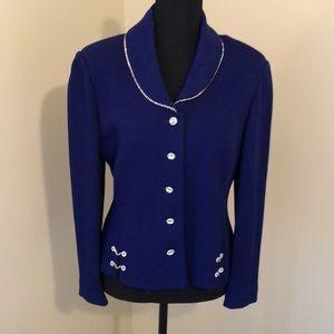 Stunning rhinestone St. John jacket